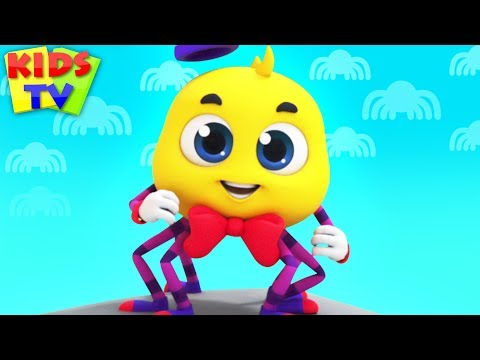 Itsy Bitsy Spider | The Supremes | Cartoon Videos & Rhymes for Babies