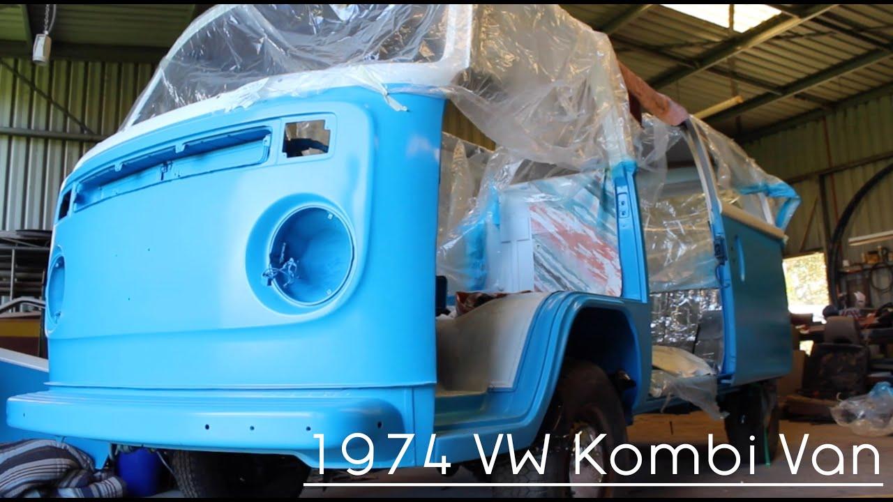 1f819a0dde 1974 Volkswagen Kombi Van Restoration Project - YouTube