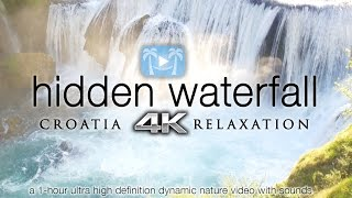 4K HIDDEN WATERFALL RELAXATION | Croatia 1HR Nature Video ft Darshan Ambient(Is it just me or do you see a face in the falls?) PURCHASE: https://www.naturerelaxation.com/products/hidden-waterfall-relaxation-1-hr-dynamic-4k-nature-video ..., 2016-09-23T17:54:31.000Z)