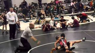 Cameron Hill 2013 Wrestling Hillsborough vs Rahway