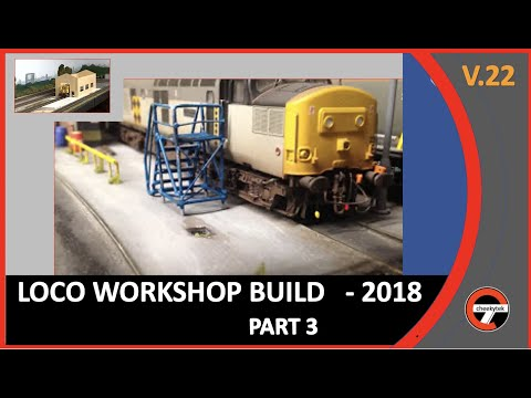 Building a new Loco Depot  – Part #3  Details and accessories