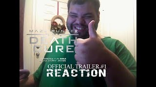 Maze Runner: The Death Cure Official Trailer #1 Reaction
