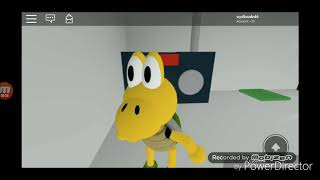Super Mario in Roblox Wii