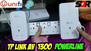 TP-LINK AV 1300 - TL-WPA8630P KIT POWERLINE [UNBOXING + INSTALLATION GUIDE + REAL WORLD USE] UNIFI