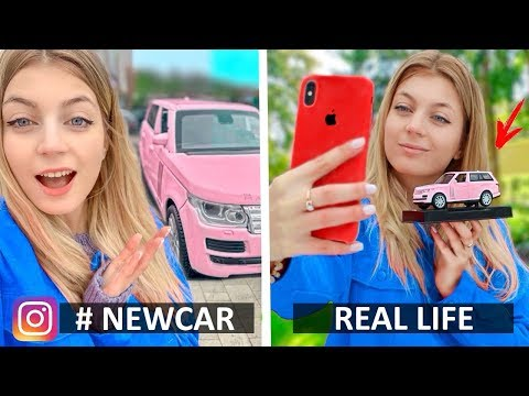 Instagram vs Real Life & Funny Facts! Phone Photo Hacks