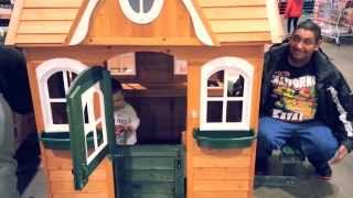 Alex Loves The Playhouse We Saw At Costco 1/25/14