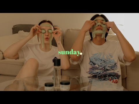 At Home Couples' Self-Care Sunday 🏠 sooo cozy !! #SisSelfCare    Sissel