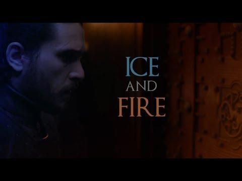 Jon Snow and Daenerys Targaryen   Ice and Fire