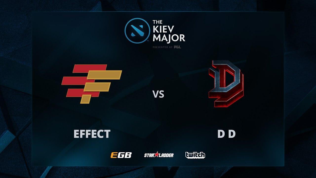 DD vs Effect, The Kiev Major CIS Main Qualifiers