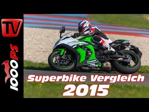 Kawasaki Ninja ZX-10R Test 2015 - 1000cc Vergleich | Bestes Superbike?