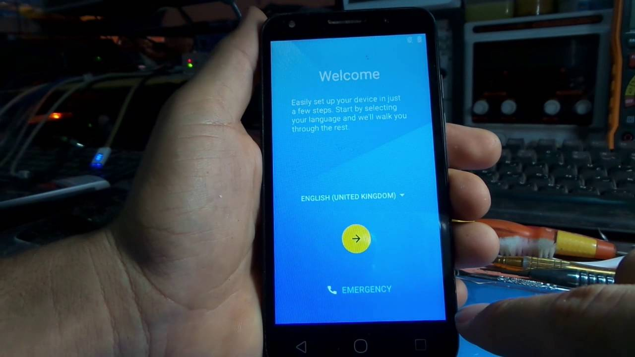 alcatel one touch 5045x reset frp remove google account - YouTube