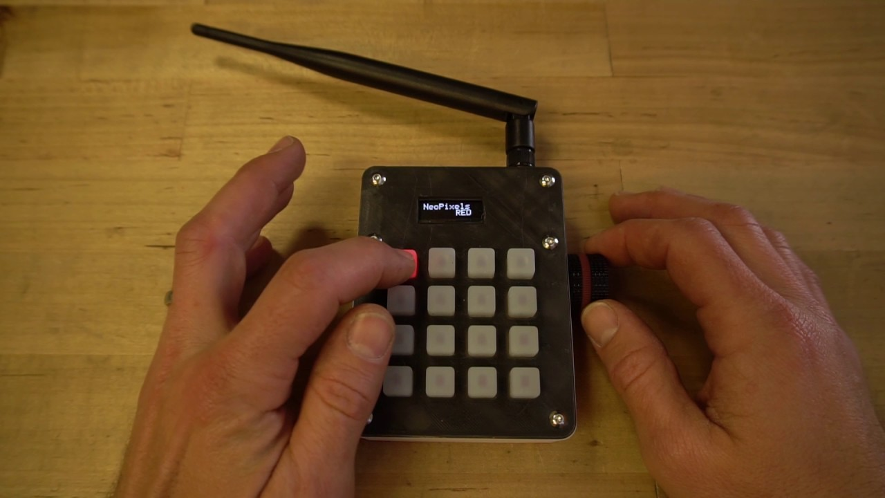 John Park's Remote Effects Trigger Box UI Demo @adafruit @johnedgarpark  #adafruit