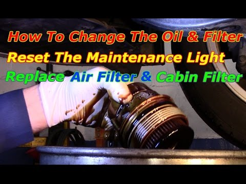 How To  Change The Oil And Filter On A 2008 Toyota Avalon