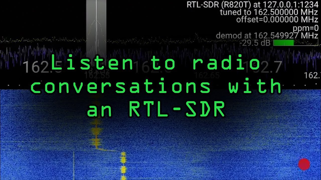 Use an RTL-SDR Software-Defined Radio Receiver with an Android Smartphone  [Tutorial]