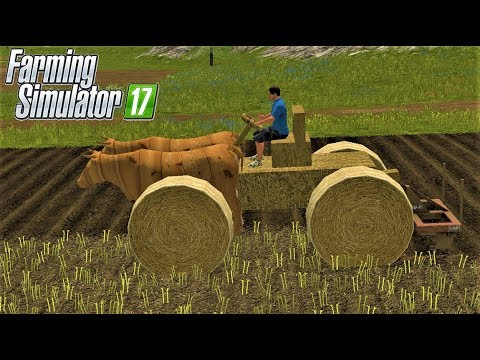 Farming Simulator 17| PRIMITIVE TECHNOLOGY CULTIVATING IN GOLDCREST VALLEY