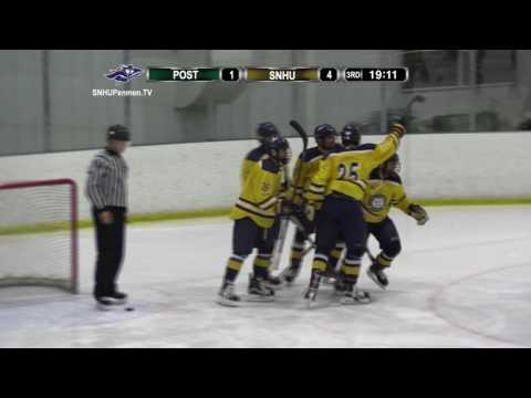 Highlights: Ice Hockey Cruises to 8-1 Win Over Post