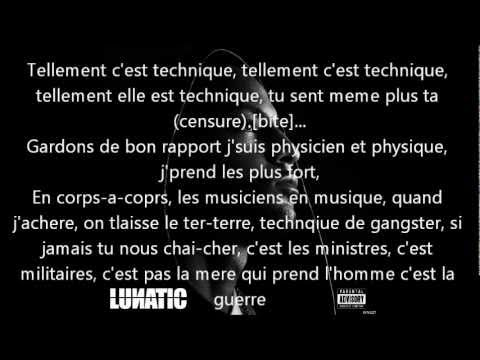 Vrai Lyrics Paroles BOOBA- SI TU SAVAIS Feat 92.i ALBUM LUNATIC 2010