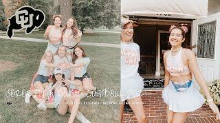 vlog: SORORITY RUSH @CU BOULDER