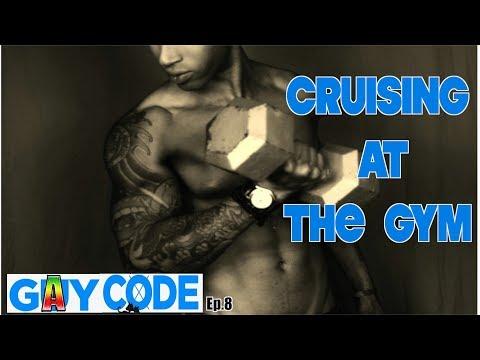 GAY CODE Ep.8 CRUISING AT THE GYM!!!!!!