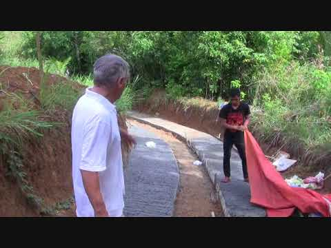 A LOOK ON OUR  CONCRETED UPHILL ROAD TUNNEL PROJECT EXPAT SIMPLE LIFE PHILIPPINES