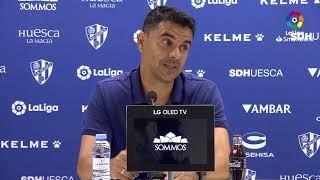 Rueda de prensa de Míchel tras el SD Huesca vs Albacete BP (0-1)