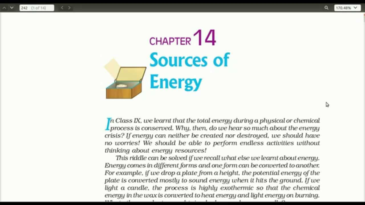 Sources of Energy - CBSE Class 10 Science - Chapter 14 - Part 1 - (in  Hindi) - V14 09 12