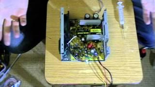 видео блок питание для светодиодной ленты из компьютерного блока ч1