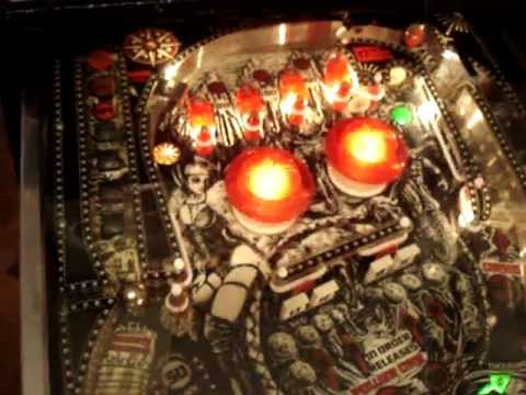 Centaur II Pinball after Playfield restoration