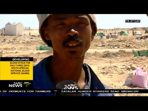 Northern Cape Illegal Miners Refuse To Stop Mining