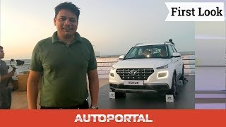 2019 Upcoming Hyundai Venue — First look review —Autoportal