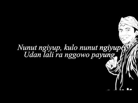 Didi Kempot   Nunut Ngiyup Lyric