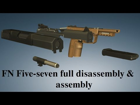 FN Five-seven: full disassembly & assembly