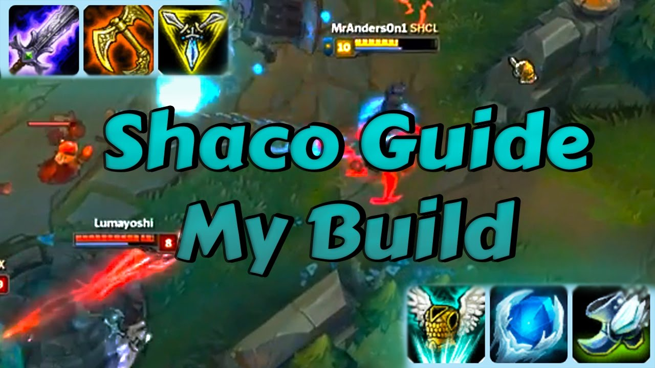 Best shaco build youtube.