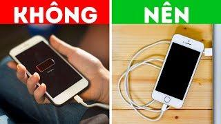 Không sử dụng điện thoại của bạn trong khi sạc, đây là lý do