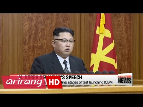 Kim Jong-un says N. Korea is in final stages of test launching ICBM