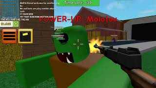 SPRAYING THESE ROBLOX: Attacco zombie
