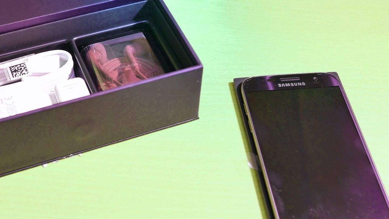 Samsung galaxy s7 edge unboxing deutsch 4k youtube - Smartphone Samsung Galaxy S7 Unboxing German 4k Auspacken In Deutsch
