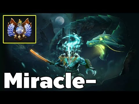 Miracle - Pro Juggernaut Carry Rank MMR Game
