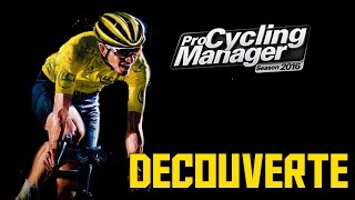 Pro Cycling Manager 2016   Gameplay Découverte !