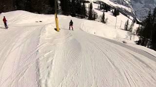 Ski - Jungfrau skiarea - Grindelwald - slope (23) red