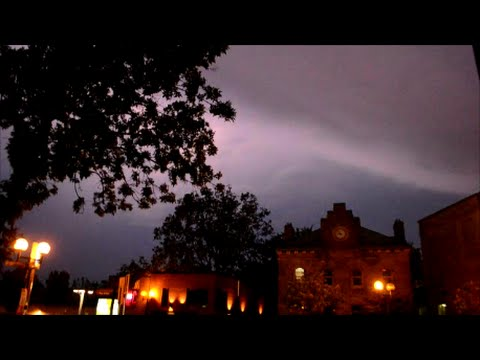 SEVERE THUNDERSTORM IN MONTREAL QC 07/27/15