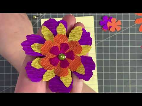 Let's Make Layered Crepe Paper Flowers