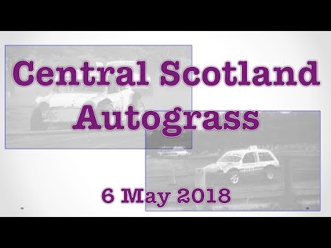 Autograss - Central Scotland - 6 May 2018
