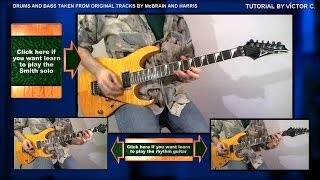 HOW TO PLAY POWERSLAVE SOLO - INTERLUDE - TUTORIAL - LESSON - CÓMO TOCAR