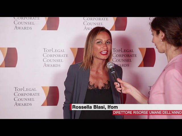 Rossella Blasi, Ifom  - TopLegal Corporate Counsel Awards 2018