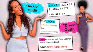 Buying Entire Outfits Based Only On Our NAMES?!