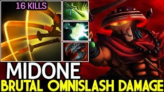 Midone [Juggernaut] Brutal Omnislash Damage Speed is Overpower 7.22 Dota 2