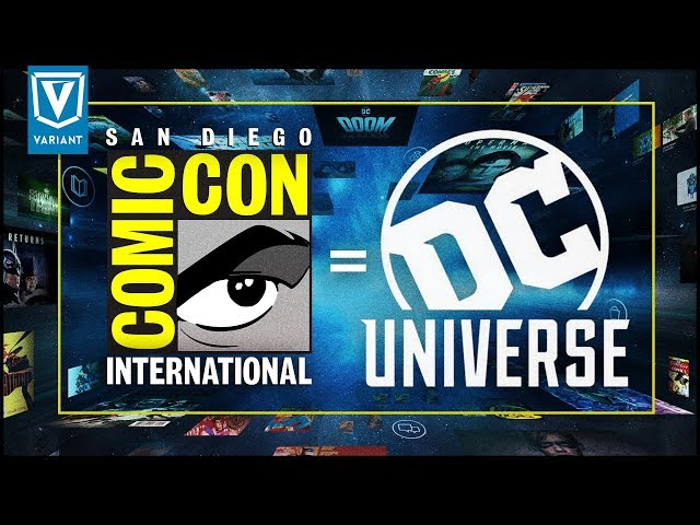 DC Takes Over SDCC 2018