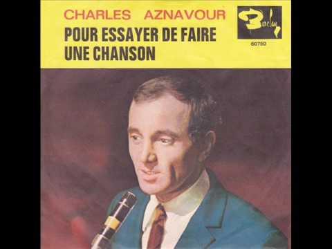 Charles aznavour pour essayer de faire une chanson paroles how to include salary requirements on a resume
