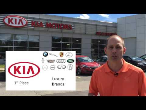 First place for Kia in the 2016 J.D. Power Initial Quality Survey